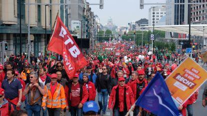 """55.000 betogers aanwezig in Brussel: """"Actie nu al geslaagd"""""""