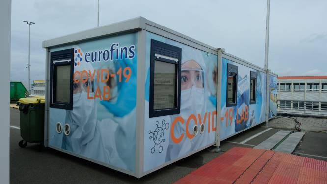Voortaan na vier uur al testresultaat op Zaventem: mobiel lab eindelijk operationeel