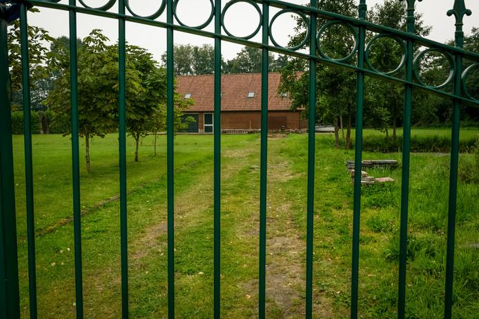 De beoogde locatie voor een groepsaccommodatie in Heerde.
