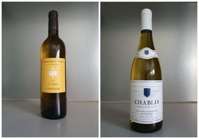 La Violette Terroirs du Vent et Chablis Cave des Vignerons de Chablis