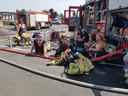 De brandweer van Nieuwpoort en Oostduinkerke bekomt van een loodzware interventie.