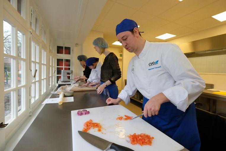 Alle medewerkers kregen de voorbije weken een opleiding bij hotelschool PIVA.