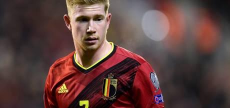 """De Bruyne: """"Si on veut gagner l'Euro, il faut toujours viser plus haut"""""""