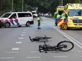 Aanrijding tussen Nunspeet en Elspeet: fietsster zwaargewond