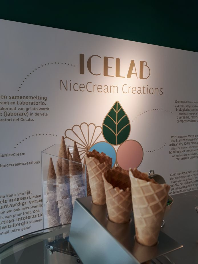 IceLab NiceCream Creations: de allereerste vegan gelateria in België opent de deuren in Antwerpen.
