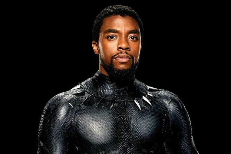 Chadwick Boseman als Black Panther Beeld
