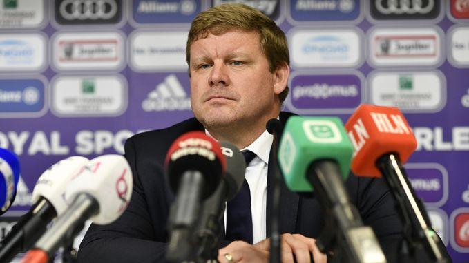 Hein nu écht trainer van Anderlecht. Het relaas van een bewogen dag
