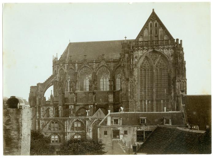 De Domkerk, zonder de kenmerkende toren.