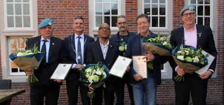 Culemborgers krijgen draaginsigne Nobelprijs VN militairen