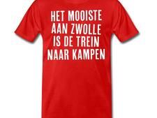'Het mooiste aan Zwolle is de trein naar Kampen'