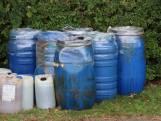 Weer drugsafval gedumpt, nu in Sint-Maartensdijk