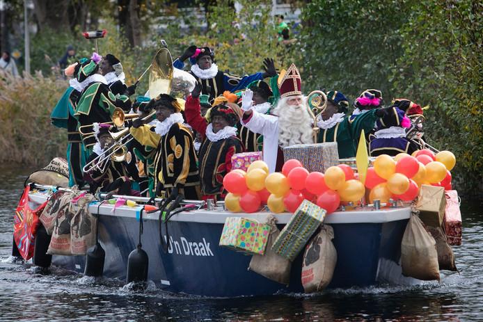 De intocht van Sinterklaas in Eindhoven in 2017 (archieffoto).