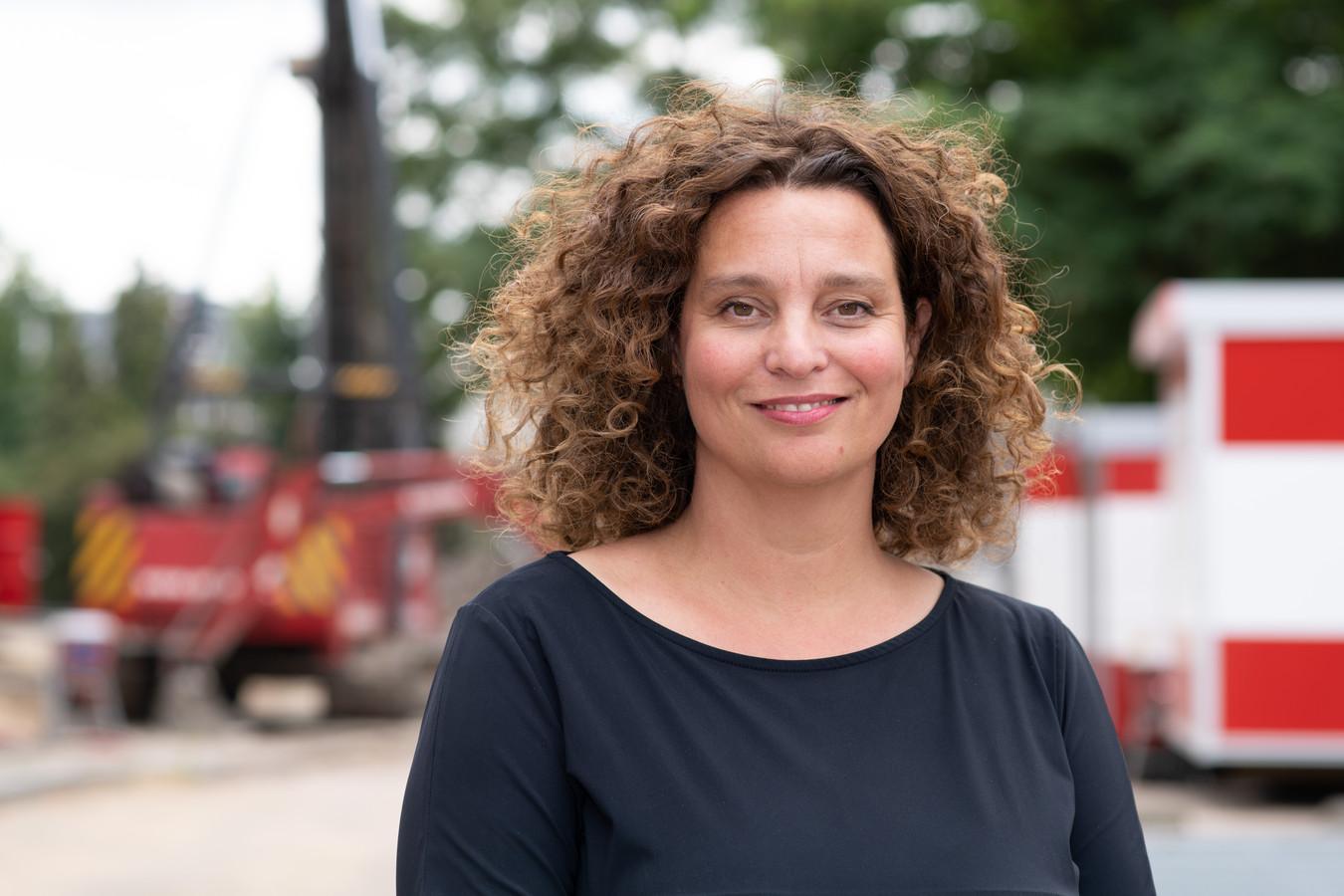 Directeur Eva Middelhoff van concertgebouw de Vereeniging in Nijmegen.