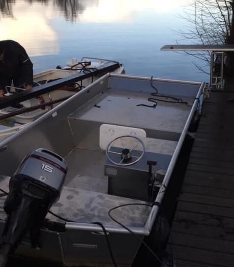 Boot gestolen op de Vinkeveense Plassen