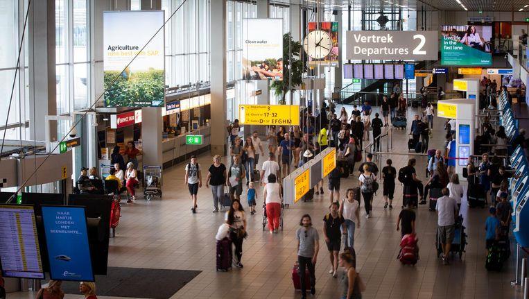 Schiphol wijst Heijmans aan als kandidaat voor bouwprojecten rond Terminal 1 en 2. Beeld anp