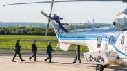 Fan ramt per ongeluk vliegtuig van Angela Merkel