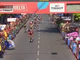 Jelle Wallays verrast in etappe 18 van de Vuelta