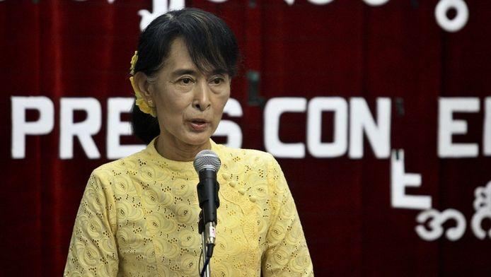 Oppositieleidster Aung San Suu Kyi
