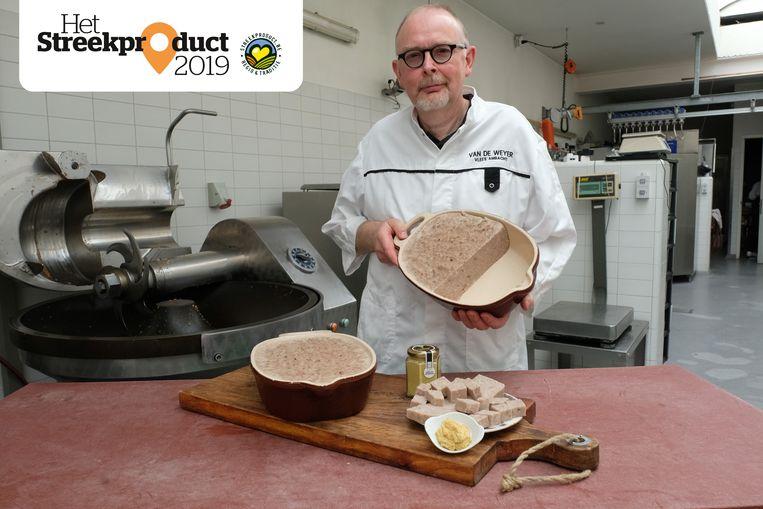 Slager Peter Van de Weyer is trots op zijn specialiteit: grijze frut.