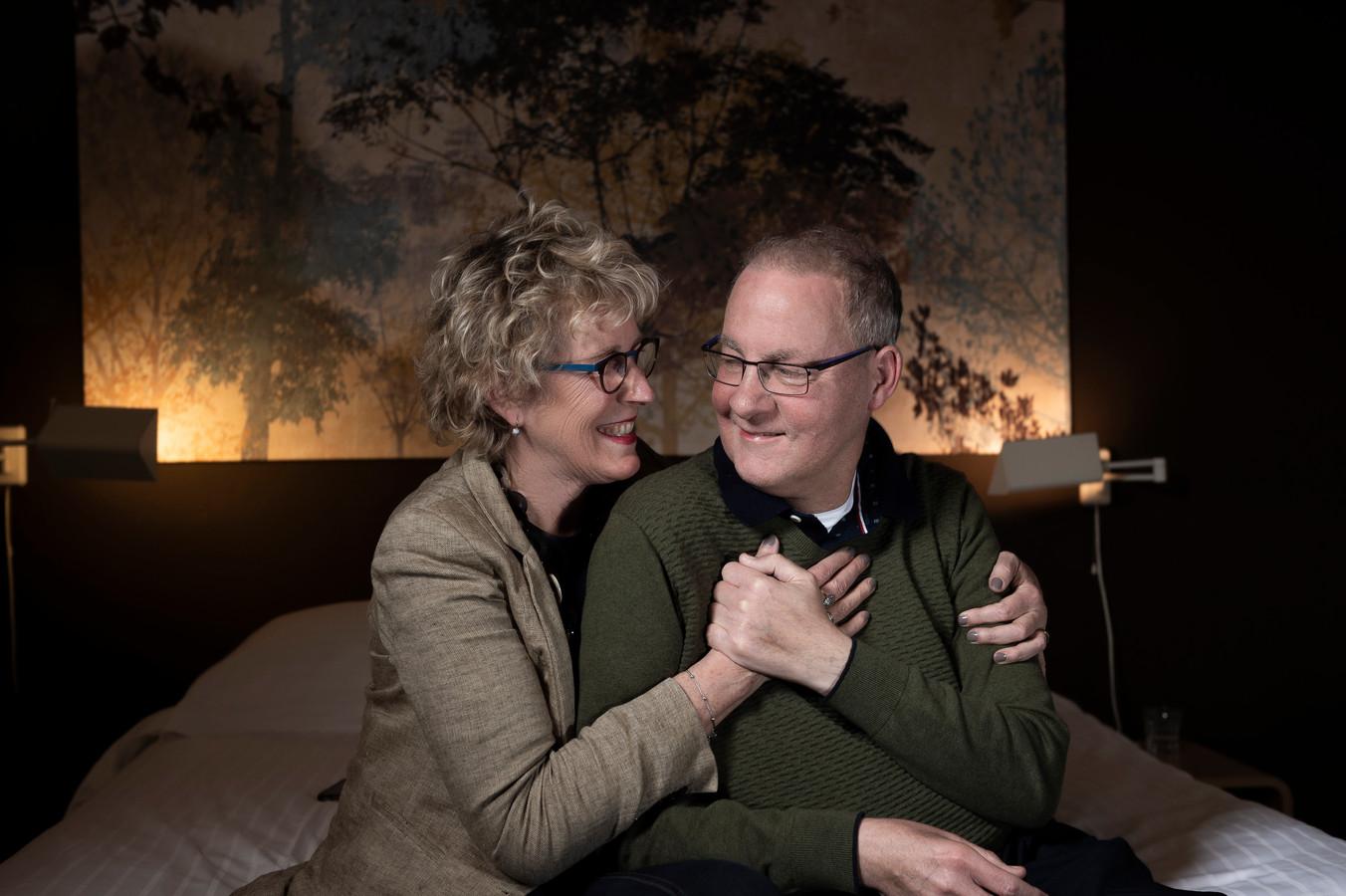 Anne-Mieke Lamers en René Klerx uit Waalwijk: 'Het Familiehuis ontzorgt'