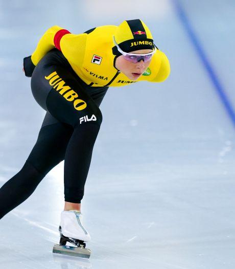 Bornse schaatsster Beune heeft al de bibbers voor de vijf kilometer