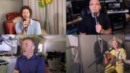 Robbie Williams brengt Take That online weer samen voor concert
