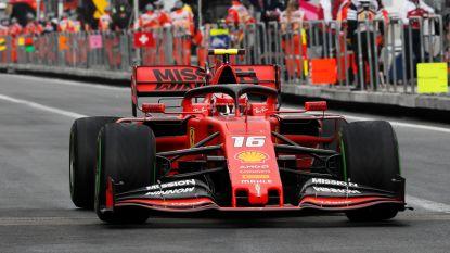 Ferrari's domineren derde vrije oefensessie in Grote Prijs van Mexico