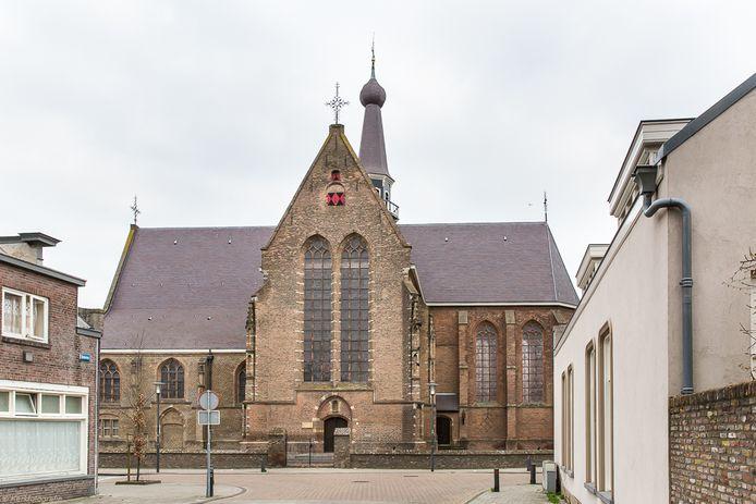 Kerk aan de Haven in Waalwijk.
