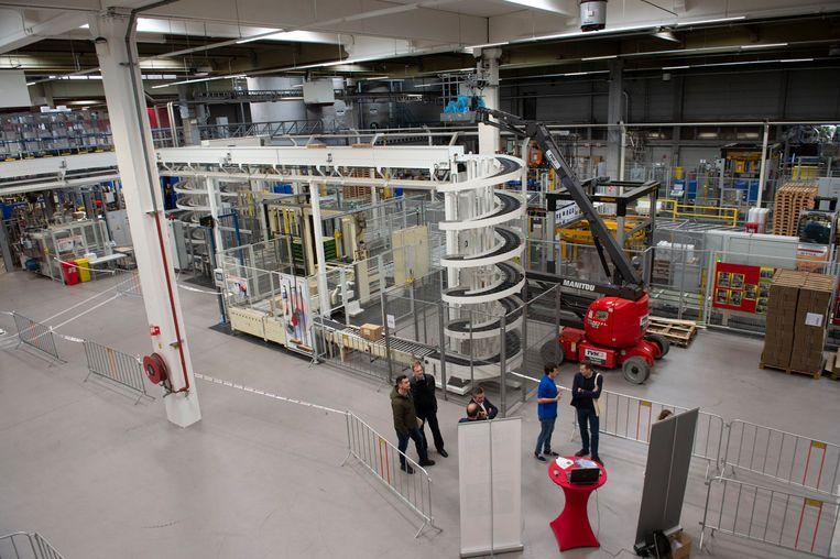 450 geïnteresseerden kwamen de fabriek zaterdag bezoeken.