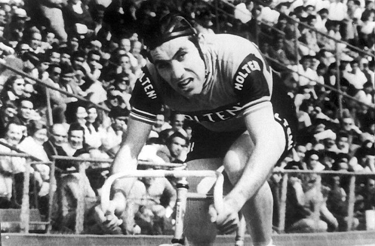 Eddy Merckx in Mexico-Stad.