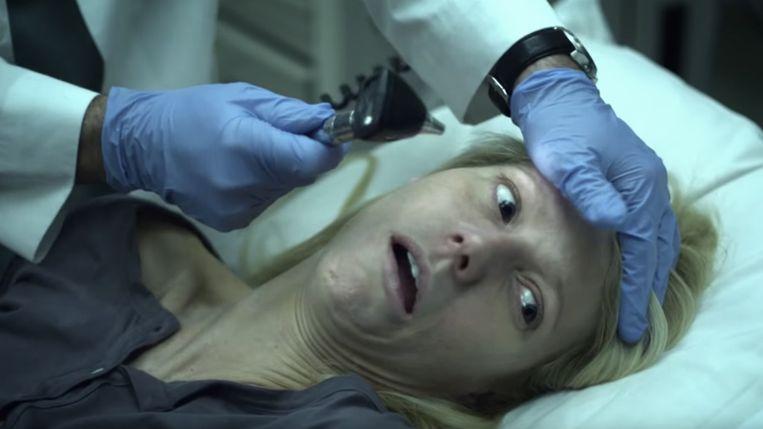 Gwyneth Paltrow in Contagion. Beeld