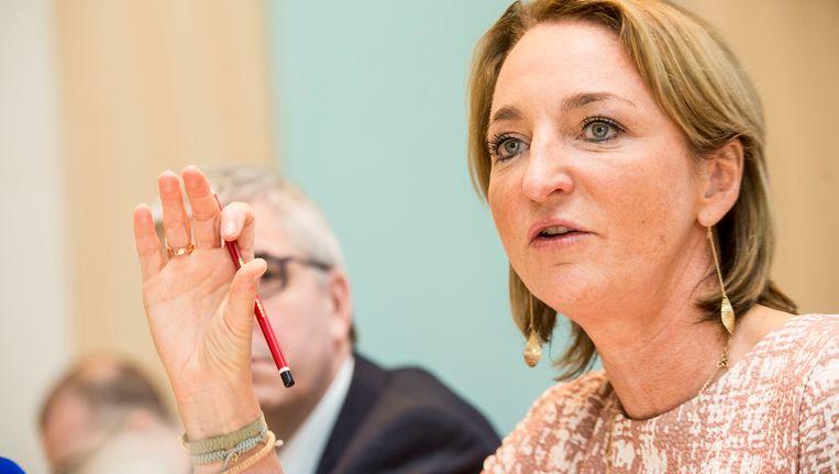 Michèle Sioen, voorzitster van de Groep van Tien.