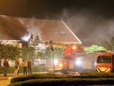Brand in Bed & Breakfast 'Oostmolenhoeve' in Goes