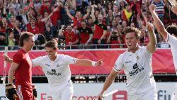 2-0! Red Lions zwoegen tegen Engeland, maar zitten na goals Boon en Hendrickx al in halve finales op EK