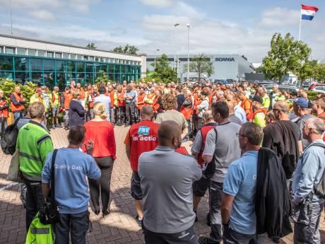 Scania-personeel Zwolle staakt opnieuw, ondanks opgelopen spanning