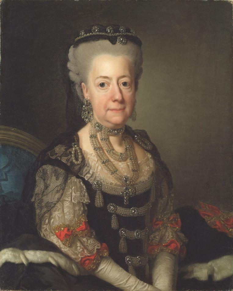 Lovisa Ulrika van Zweden, 1775. Beeld   National Museum Stockholm