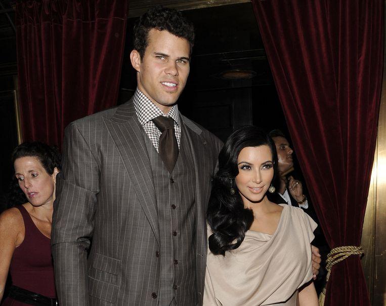 Kim Kardashian en haar ex Kris Humphries in betere tijden.