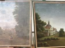 Enorm verschil voor en na restauratie: achttiende-eeuwse schilderijen uit Aardenburg opgeknapt