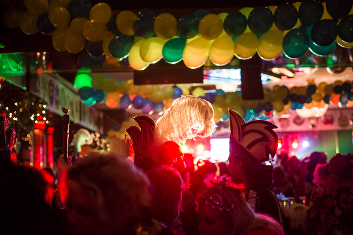 Carnaval in partycentrum Rouwhorst in Oldenzaal.