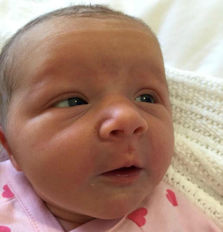 Violet op een foto die werd verspreid door het Australische ministerie van Buitenlandse Zaken.