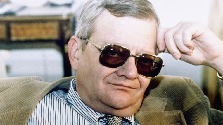 Tom Clancy in 1998. Beeld anp