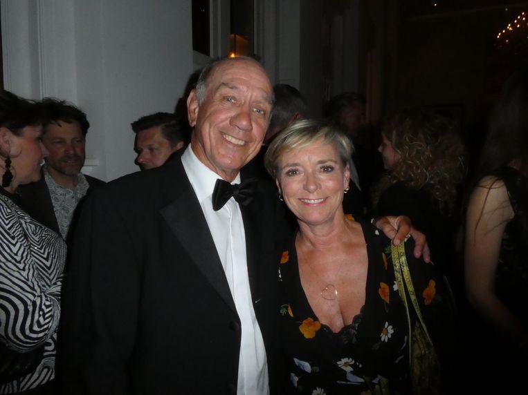 Zoon Peter Römer: 'Piet had zijn zegen gegeven. Omdat de film enorm ver weg blijft van het origineel.' Met zijn vrouw Annet Hock. Beeld Hans van der Beek