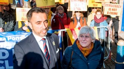Door Spanje gezochte Catalaanse politica geeft zich aan bij Schotse politie