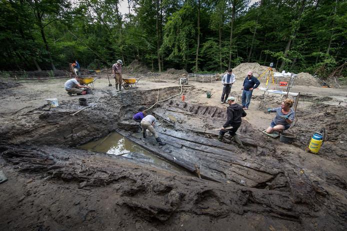 Ter illustrie:  archeologen aan het werk.