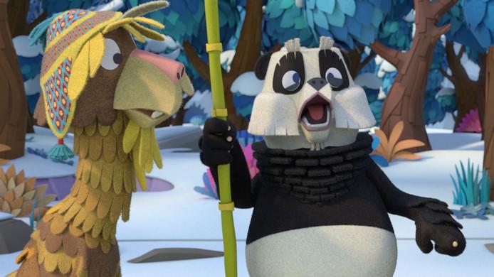 Chico Lama en Peter Panda
