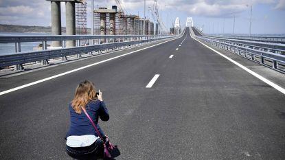 Europa sanctioneert zes Russische bedrijven voor aanleg van brug naar de Krim