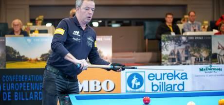 Gespannen Dick Jaspers stoot door naar halve finale Duke Challenge