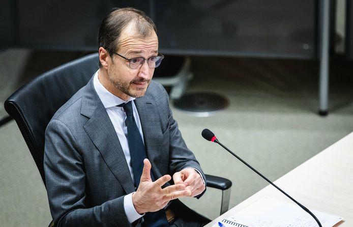 Eric Wiebes, staatssecretaris van Financiën van 2014 tot 2017.