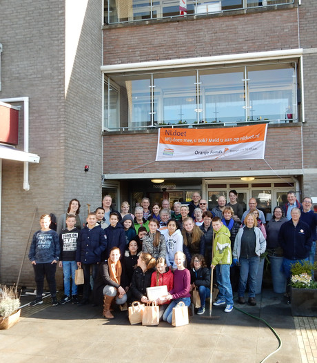 Op zoek naar vrijwilligers van de toekomst bij NL-Doet in Haaften
