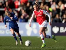 Arsenal-vrouwen hard onderuit in kraker tegen Chelsea